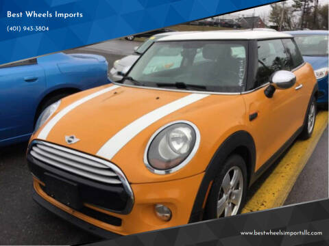 2014 MINI Hardtop for sale at Best Wheels Imports in Johnston RI