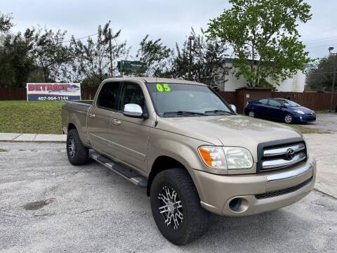 2005 Toyota Tundra for sale at Detroit Cars and Trucks in Orlando FL