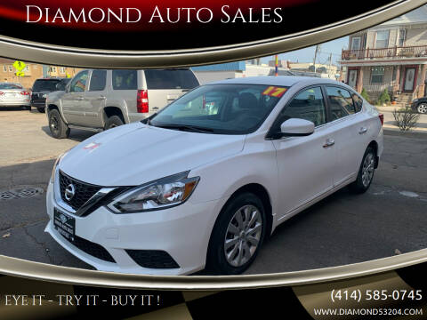 2017 Nissan Sentra for sale at Diamond Auto Sales in Milwaukee WI