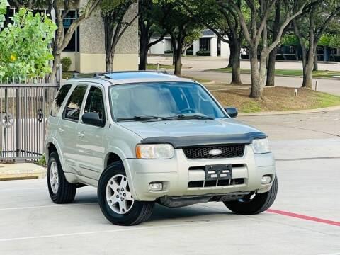 2003 Ford Escape for sale at Texas Drive Auto in Dallas TX