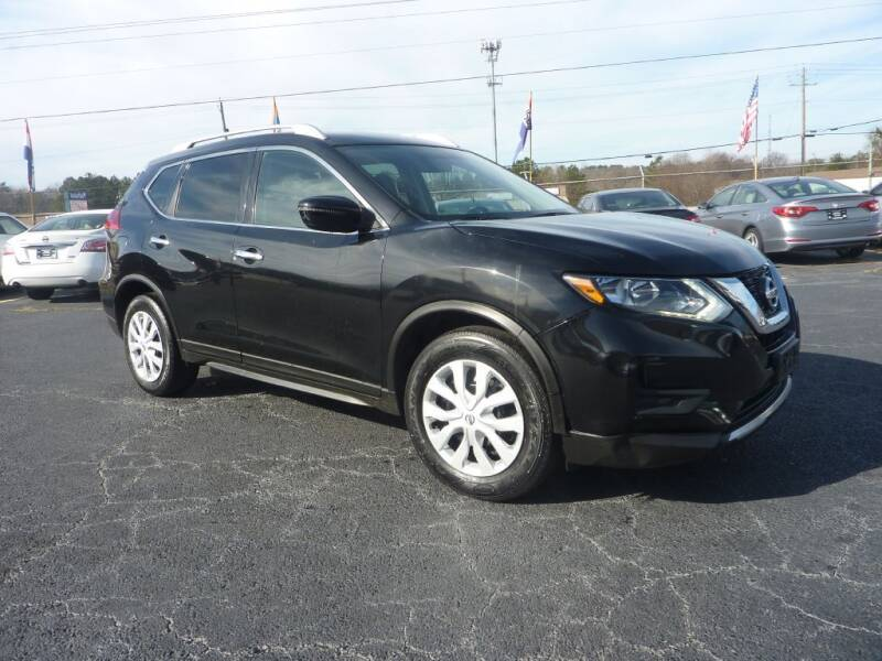 2017 Nissan Rogue for sale at Roswell Auto Imports in Austell GA