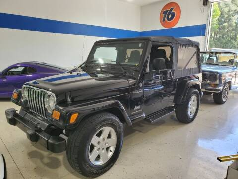 2005 Jeep Wrangler for sale at European Performance in Raleigh NC