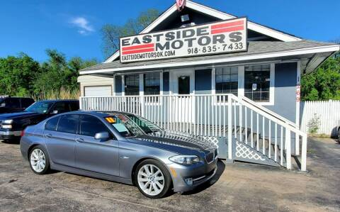 2011 BMW 5 Series for sale at EASTSIDE MOTORS in Tulsa OK
