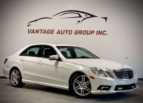 2010 Mercedes-Benz E-Class for sale at Vantage Auto Group Inc in Fresno CA
