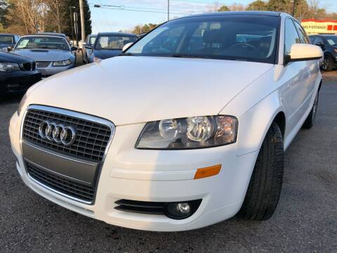 2008 Audi A3 for sale at Atlantic Auto Sales in Garner NC