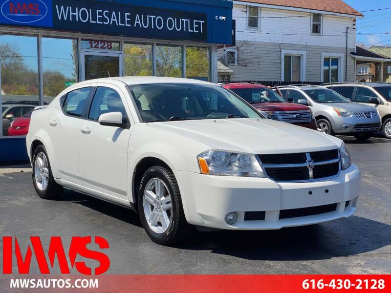 2010 Dodge Avenger for sale at MWS Wholesale  Auto Outlet in Grand Rapids MI