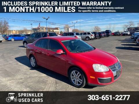 2009 Volkswagen Jetta for sale at Sprinkler Used Cars in Longmont CO