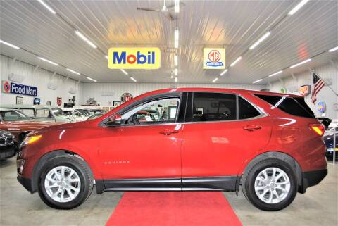 2018 Chevrolet Equinox for sale at Masterpiece Motorcars in Germantown WI