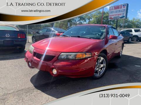 2004 Pontiac Bonneville for sale at L.A. Trading Co. Detroit in Detroit MI