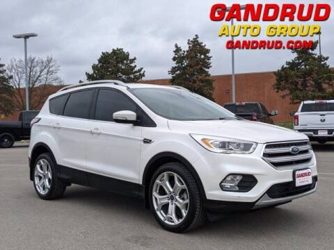 2018 Ford Escape for sale at Gandrud Dodge in Green Bay WI