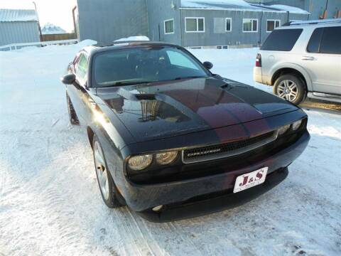 2012 Dodge Challenger for sale at J & S Auto Sales in Thompson ND