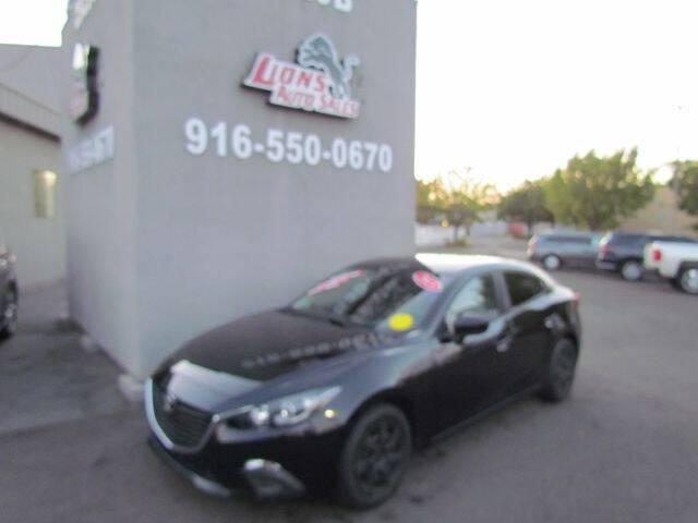 2015 Mazda MAZDA3 for sale at LIONS AUTO SALES in Sacramento CA