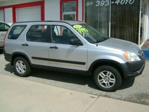 2004 Honda CR-V for sale at Cedar Auto Sales in Lansing MI