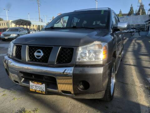 2007 Nissan Armada for sale at Best Deal Auto Sales in Stockton CA