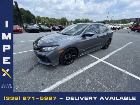 2018 Honda Civic for sale at Impex Auto Sales in Greensboro NC
