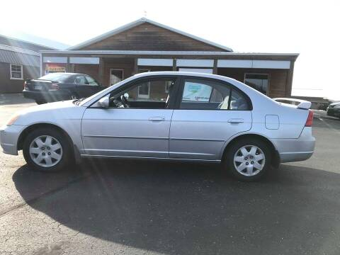 2001 Honda Civic for sale at Cannon Falls Auto Sales in Cannon Falls MN