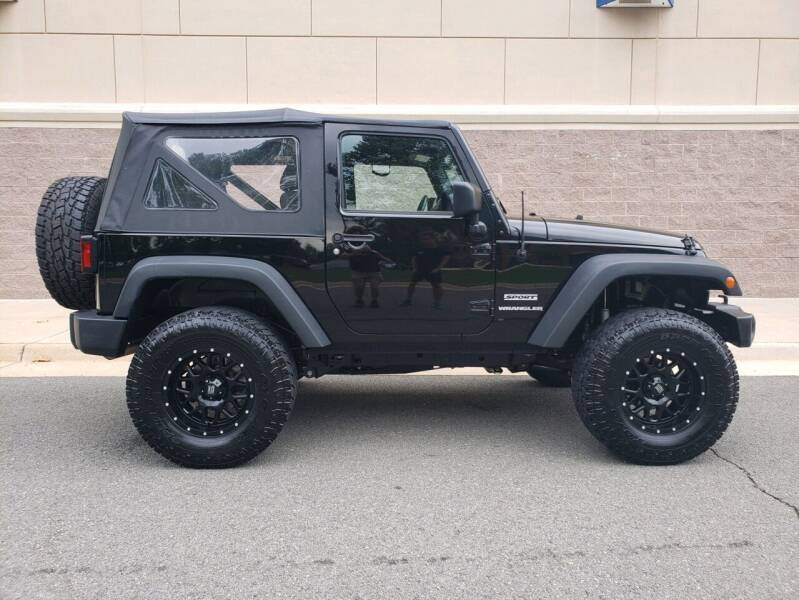 2016 Jeep Wrangler for sale at Dreams Auto Group LLC in Sterling VA