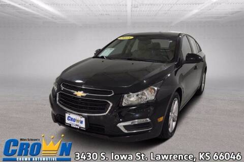 2015 Chevrolet Cruze for sale at Crown Automotive of Lawrence Kansas in Lawrence KS