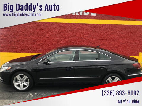 2013 Volkswagen CC for sale at Big Daddy's Auto in Winston-Salem NC