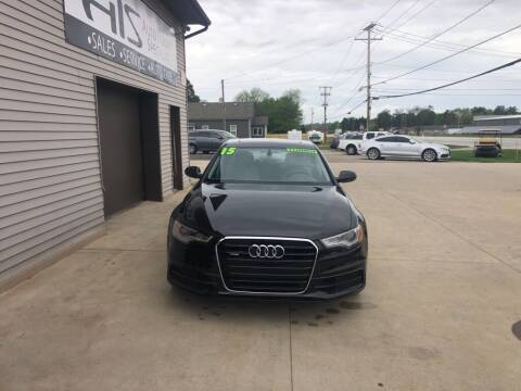 2015 Audi A6 for sale at Auto Import Specialist LLC in South Bend IN