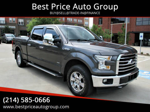 2017 Ford F-150 for sale at Best Price Auto Group in Mckinney TX