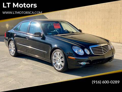 2007 Mercedes-Benz E-Class for sale at LT Motors in Rancho Cordova CA