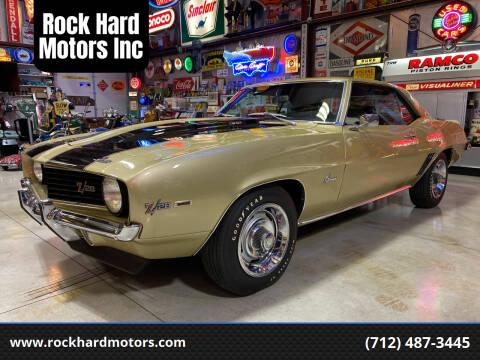 1969 Chevrolet Camaro for sale at Rock Hard Motors Inc in Treynor IA