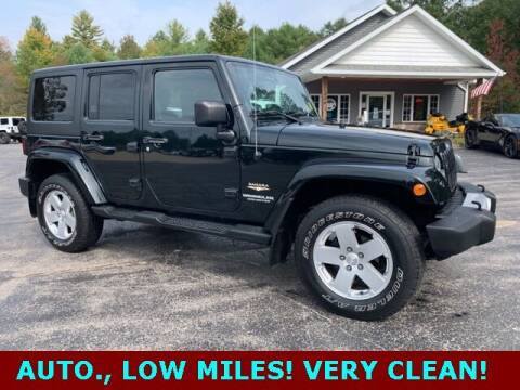 2012 Jeep Wrangler Unlimited for sale at Drivers Choice Auto & Truck in Fife Lake MI