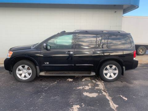2008 Nissan Armada for sale at Eagle Auto LLC in Green Bay WI