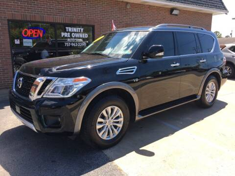 2017 Nissan Armada for sale at Bankruptcy Car Financing in Norfolk VA
