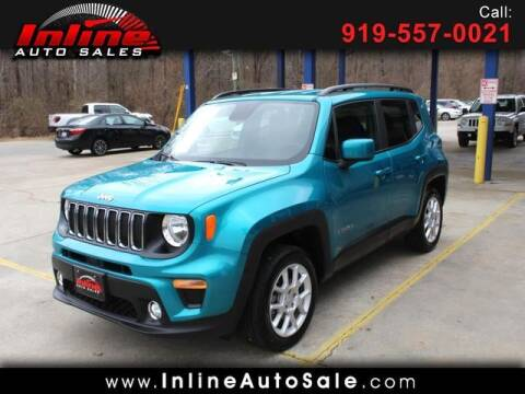 2020 Jeep Renegade for sale at Inline Auto Sales in Fuquay Varina NC