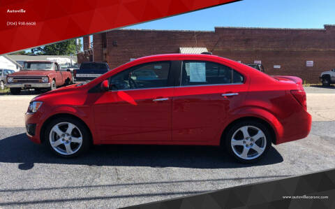 2015 Chevrolet Sonic for sale at Autoville in Kannapolis NC