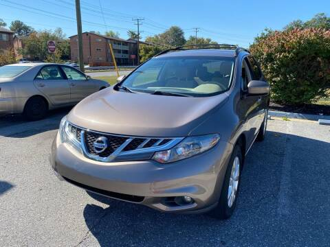 2014 Nissan Murano for sale at Car Port Auto Sales, INC in Laurel MD
