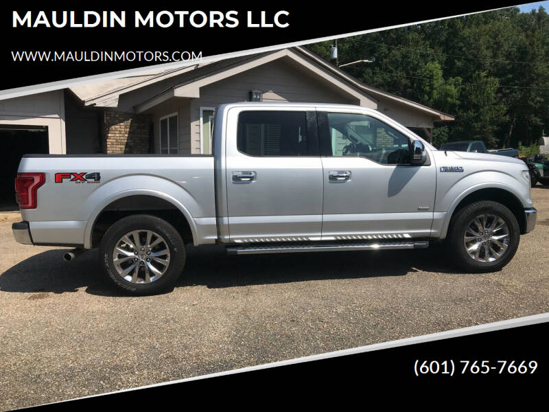 2015 Ford F-150 for sale at MAULDIN MOTORS LLC in Sumrall MS