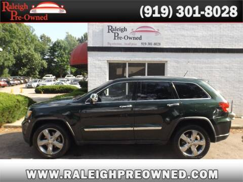2011 Jeep Grand Cherokee for sale at Raleigh Pre-Owned in Raleigh NC