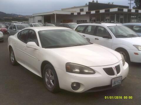2008 Pontiac Grand Prix for sale at Mendocino Auto Auction in Ukiah CA