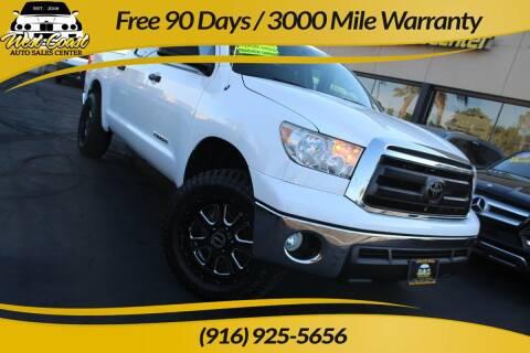 2011 Toyota Tundra for sale at West Coast Auto Sales Center in Sacramento CA