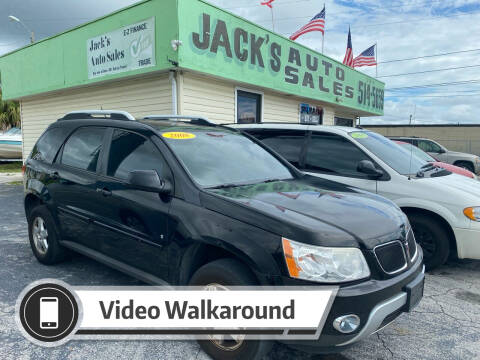 2008 Pontiac Torrent for sale at Jack's Auto Sales in Port Richey FL