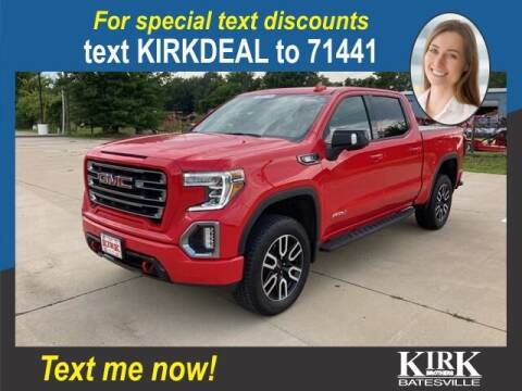 2021 GMC Sierra 1500 for sale at Kirk Brothers Batesville in Batesville MS