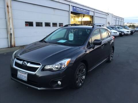 2012 Subaru Impreza for sale at My Three Sons Auto Sales in Sacramento CA