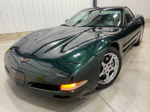 2001 Chevrolet Corvette for sale at EUROPEAN AUTOHAUS, LLC in Holland MI