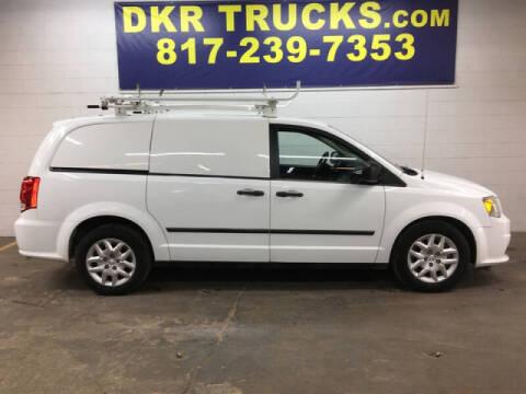 2014 RAM C/V for sale at DKR Trucks in Arlington TX
