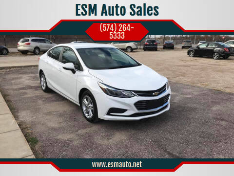 2016 Chevrolet Cruze for sale at ESM Auto Sales in Elkhart IN