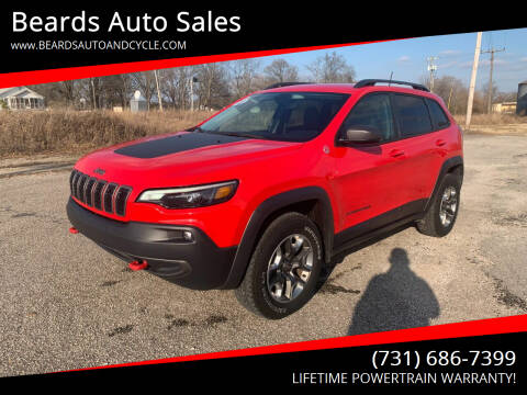 2019 Jeep Cherokee for sale at Beards Auto Sales in Milan TN