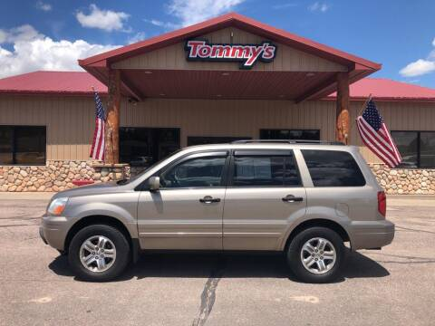 2005 Honda Pilot for sale at Tommy's Car Lot in Chadron NE