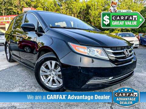 2014 Honda Odyssey for sale at High Rated Auto Company in Abingdon MD
