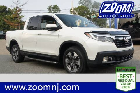 2017 Honda Ridgeline for sale at Zoom Auto Group in Parsippany NJ