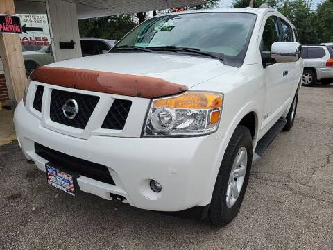 2008 Nissan Armada for sale at New Wheels in Glendale Heights IL
