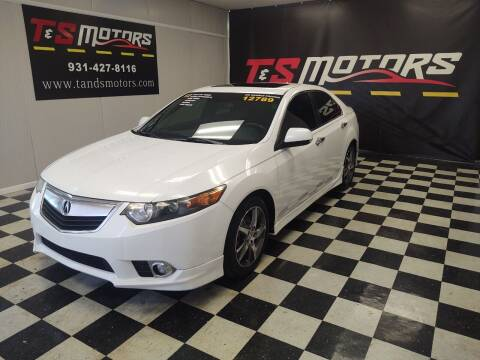 2012 Acura TSX for sale at T & S Motors in Ardmore TN