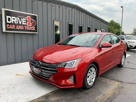 2020 Hyundai Elantra for sale at Drive 1 Car & Truck in Springfield OH